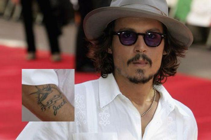 Creative Grey Color Ink Celebrity Tattoo Picture On Arm For Boys