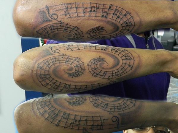 Custom Black Color Ink Cancer Tattoo Design On Arm For Boys