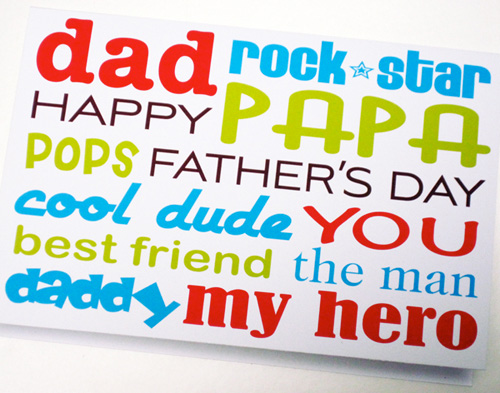 Dad Rock Star Papa Pops Cool Dude Happy Father's Day