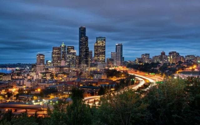 Dashing Seattle Full HD Wallpaper