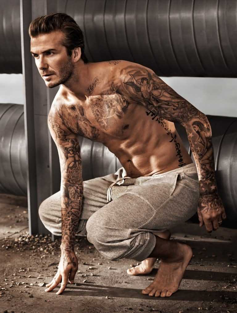 David Beckham Tattoo016