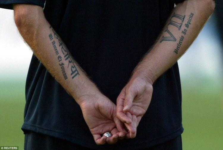 David Beckham Tattoo030