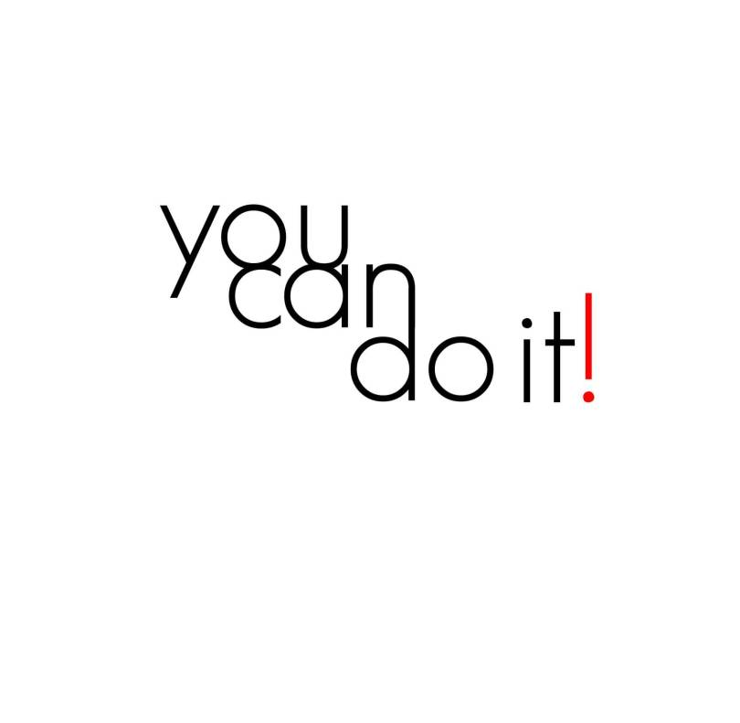 Do Sayings You can do it