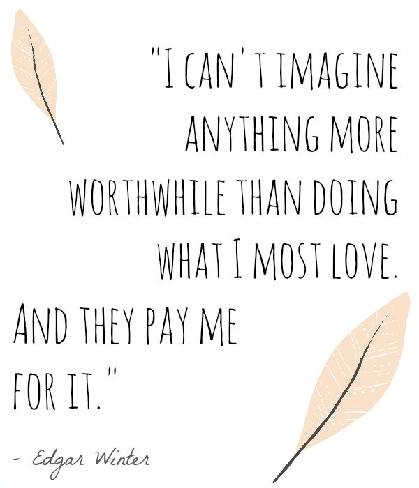 Doing Me Sayings I can't imagine anything more worthwhile than doing