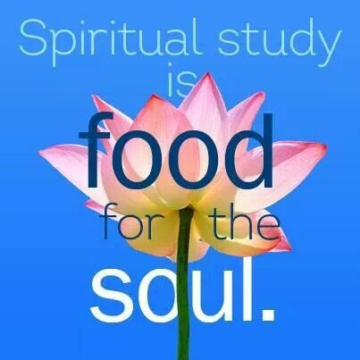 FFA Quotes Spiritual study is food for the soul