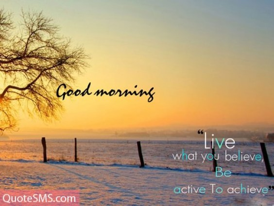 Fabulous Good Morning Wishes Quotes Image