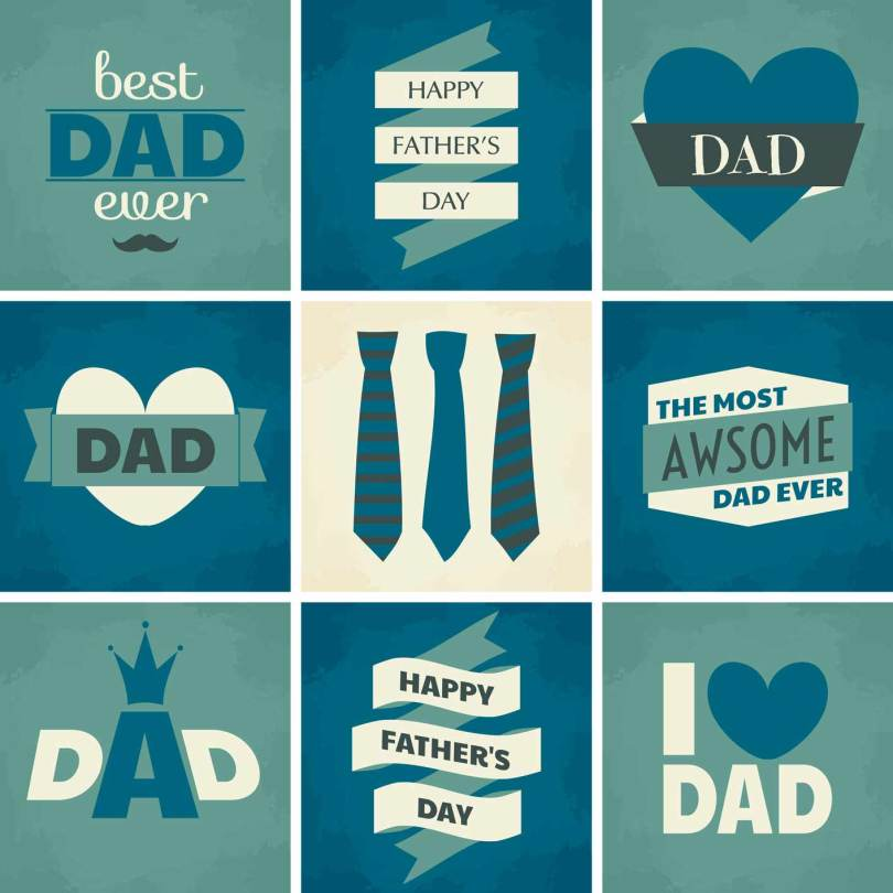 Fabulous Happy Father's Day I Love Dad