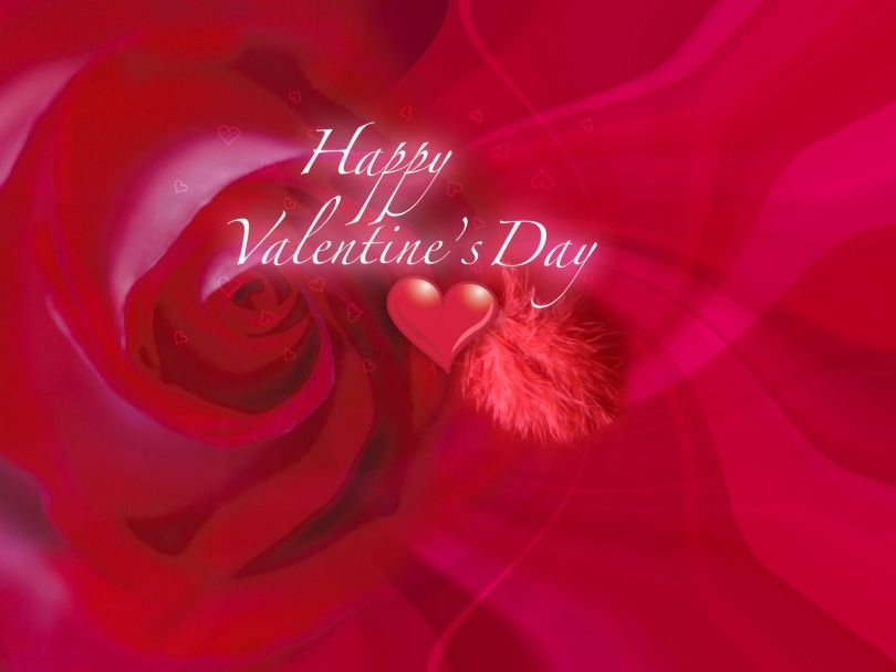 Fabulous Happy Valentine Day Wallpaper