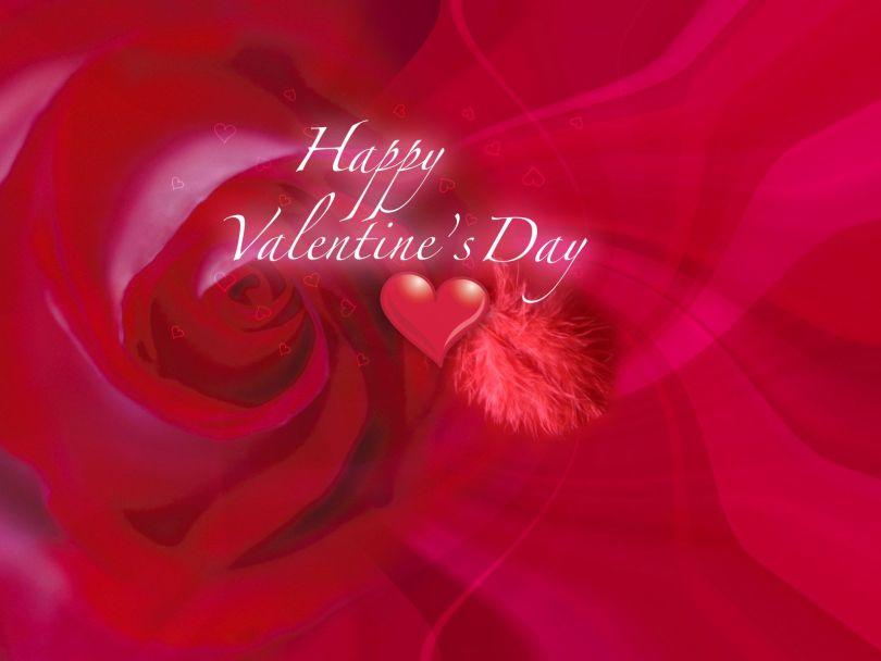 Fabulous Happy Valentine Day Wallpaper