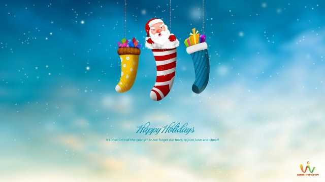 Facebook Happy Holiday Wishes Wallpaper Image