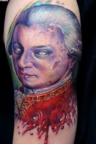 Famous Celebrity Zombie Tattoo