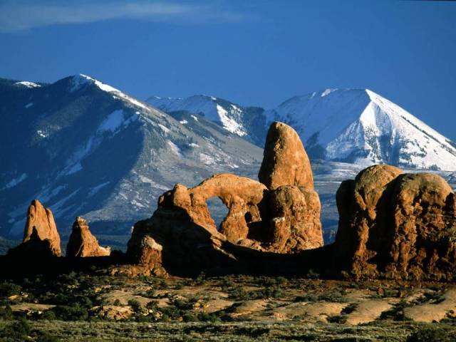 Fantastic Arches National Park Utah 4K Wallpaper