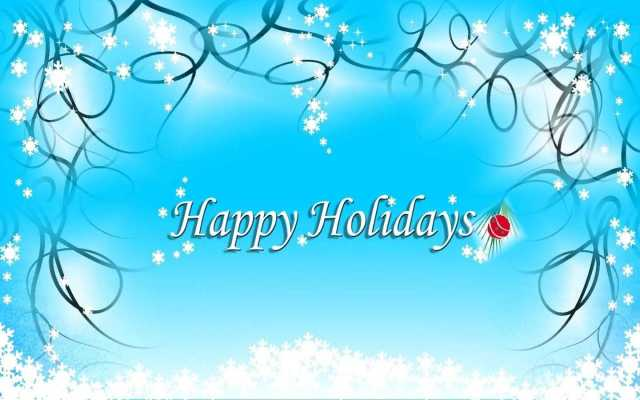 Fantastic Happy Holiday Wishes Wallpaper