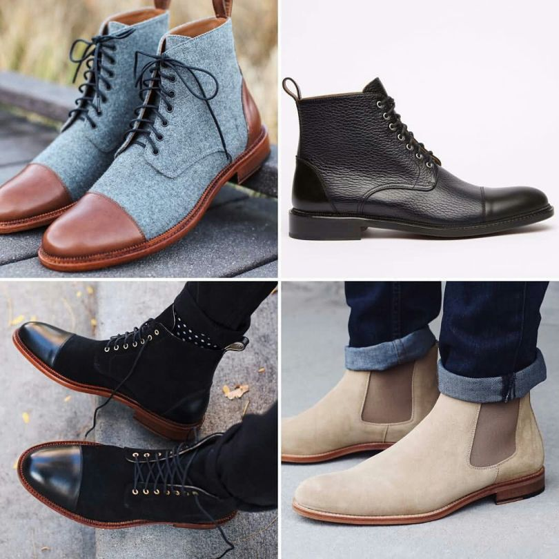 Fasonable Highneck Leather Shoe Collection For Cool Guys