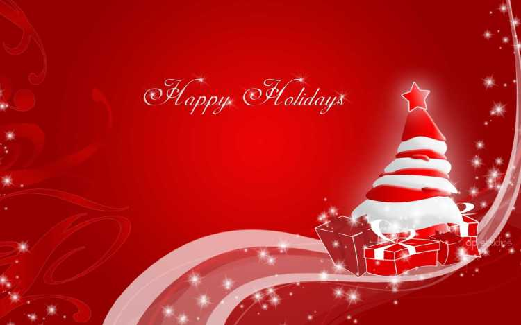 Free Happy Holiday Wishes Wallpaper