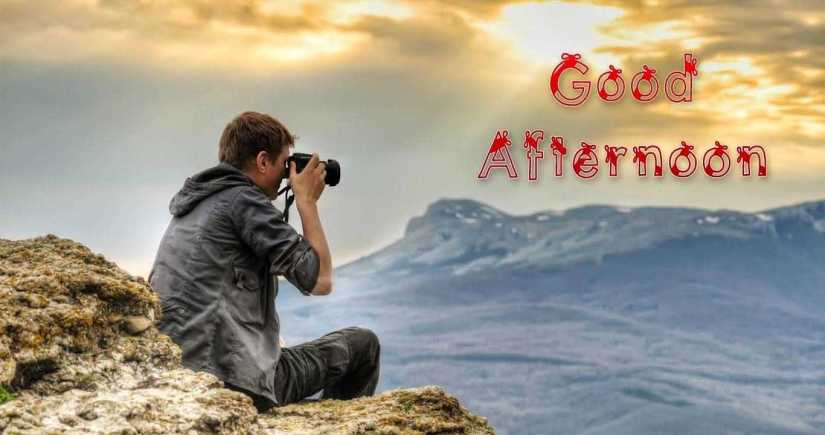 Friend Good Afternoon Wishes Wallpaper