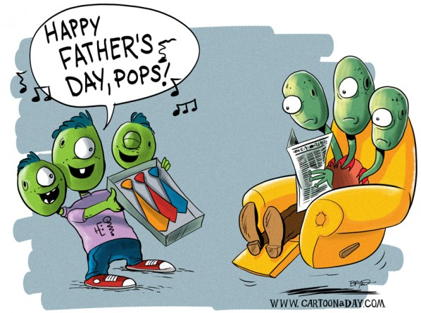 Funny Happy Father's Day Pops Image