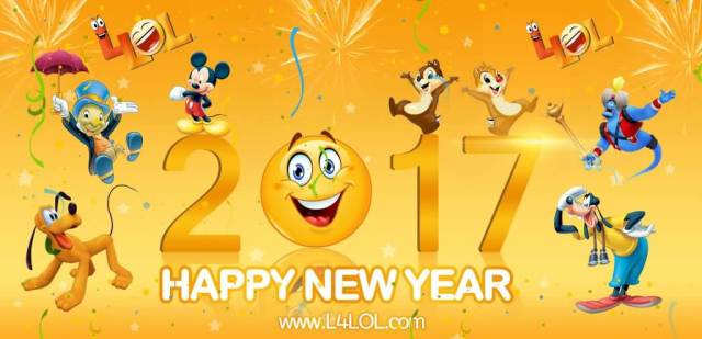 Funny Happy New Year 2017 Wishes Image