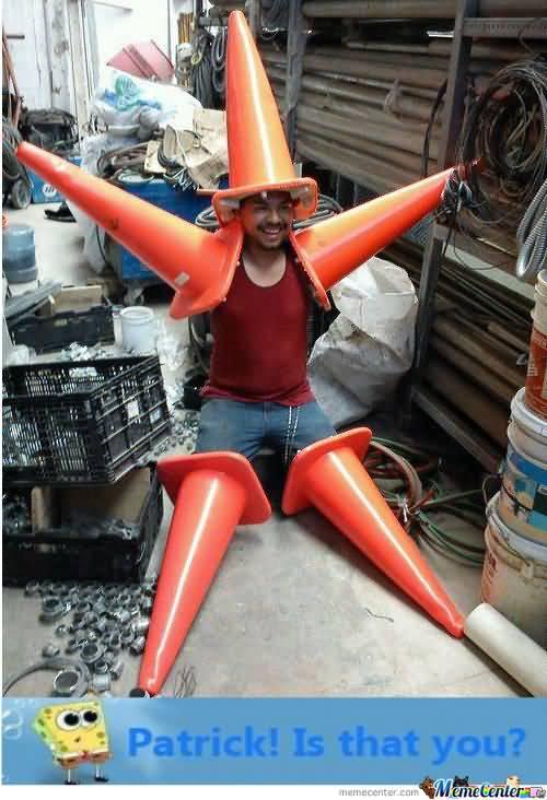 Funny Patrick Meme Patrick is that you