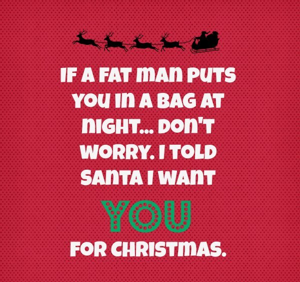 Funny Santa Christmas Message