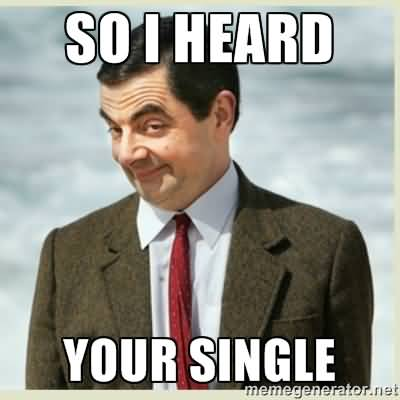 Funny Single Meme So i heard your single