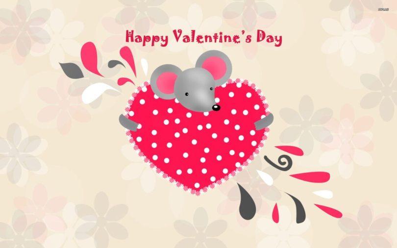 Girlfriend Happy Valentine Day Wishes Image