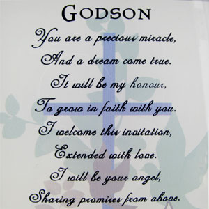 Godson Quotes Godson you are a precious miracle and a dream comes true