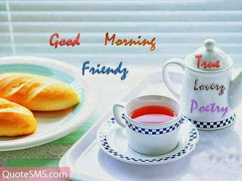 Good Morning Friends Image