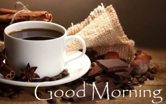 Good Morning Wishes Tea Message Image