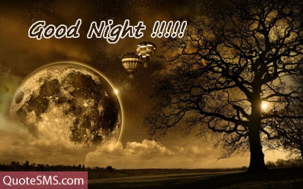 Good Night Wishes Message Picture