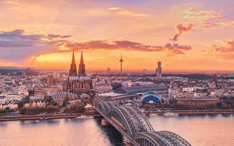 Great Cologne Germany Full HD Wallpaper