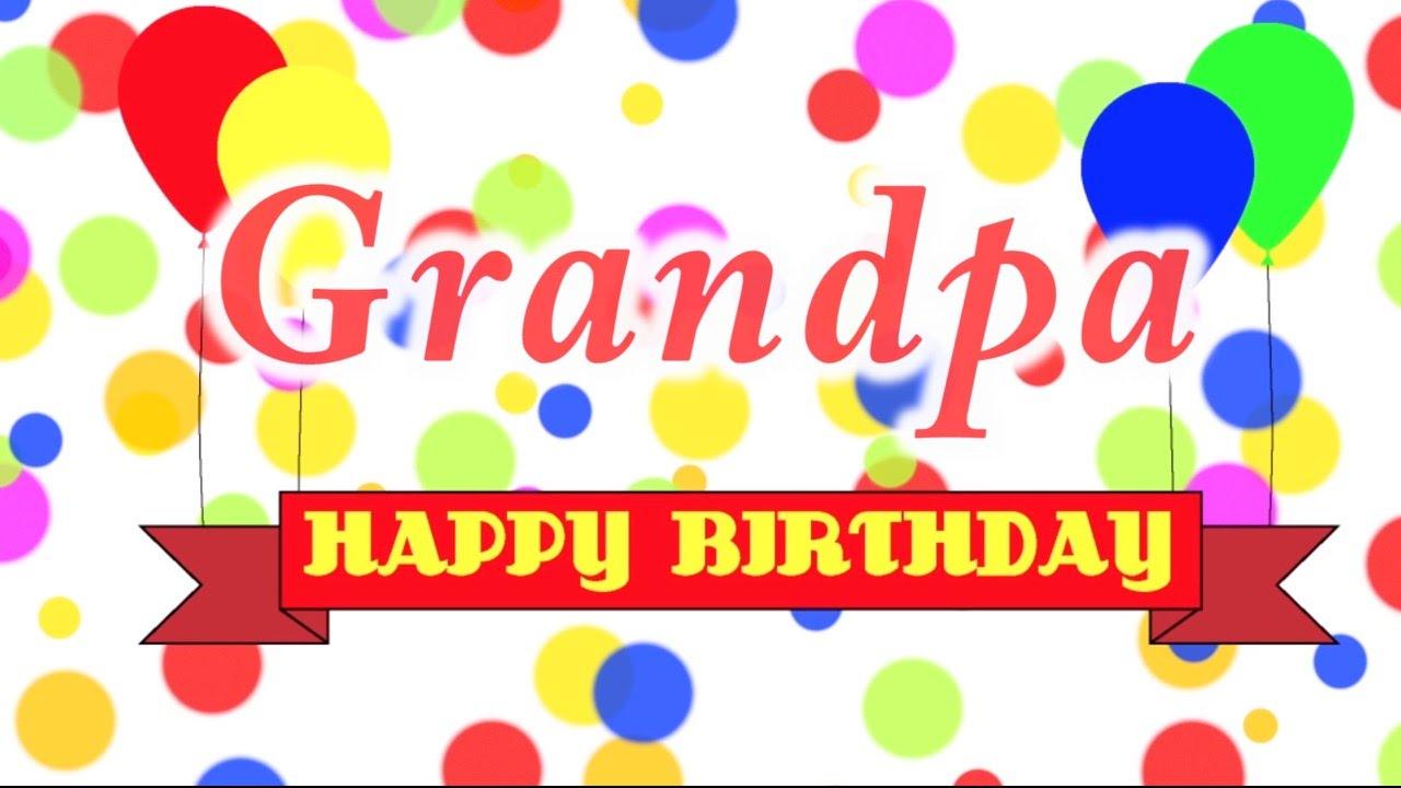 42 Heart Touching Grandpa Birthday Wishes Image Picsmine Happy Birthday Wishes To Grandfather