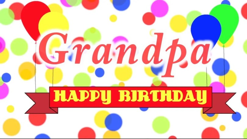 Great Grandpa Happy Birthday Wishes Image