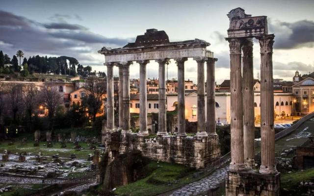 Great Roman Forum Full HD Wallpaper