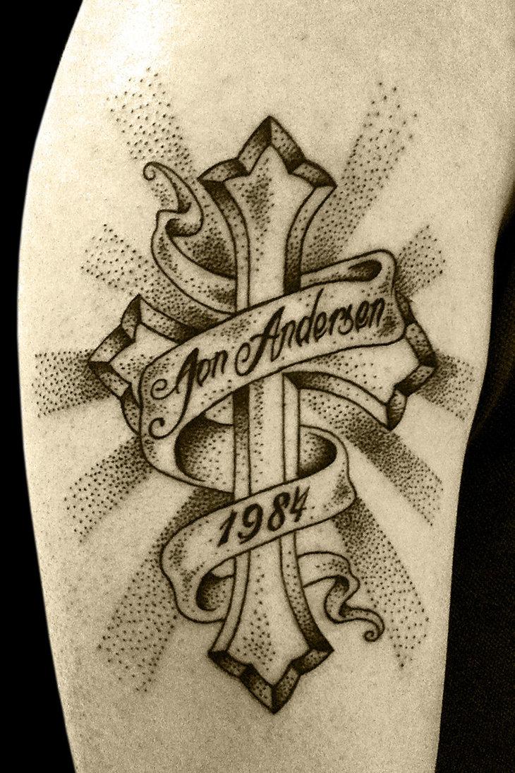 45 Creative Banner Tattoos Ideas & Designs For Men Women ...