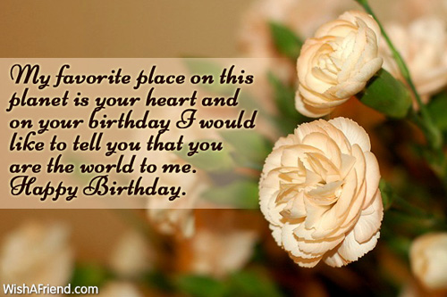 Happy Birthday Dearest Wife I Love Quotes Greetings
