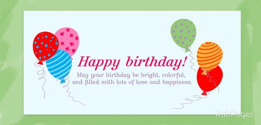Happy Birthday May Birthday Be Bright Colorful Greeting Message