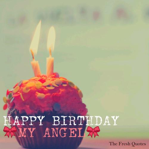 Happy Birthday My Angel Greeting Card