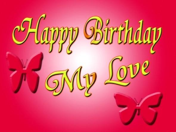 Happy Birthday My Love Beautiful Greetings Image