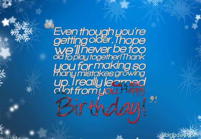 Happy Birthday Sister Message Image