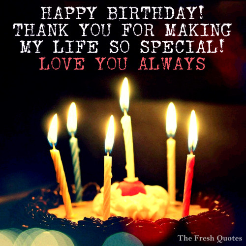Happy Birthday Special Love With Awesome Candles Cake Birthday Greetings Image