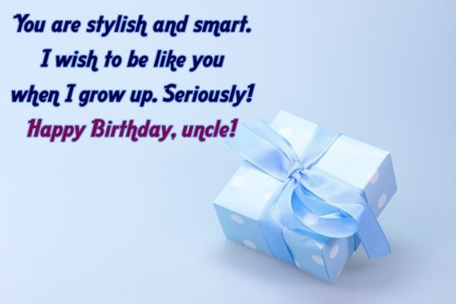 Happy Birthday To Dearest Uncle Wishes Message