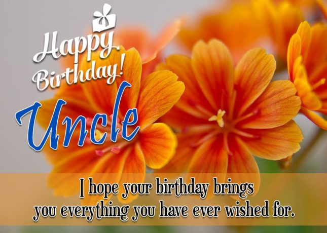 Uncle Birthday Wishes012