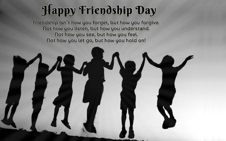 Happy Friendship Day Greetings Quotes Image