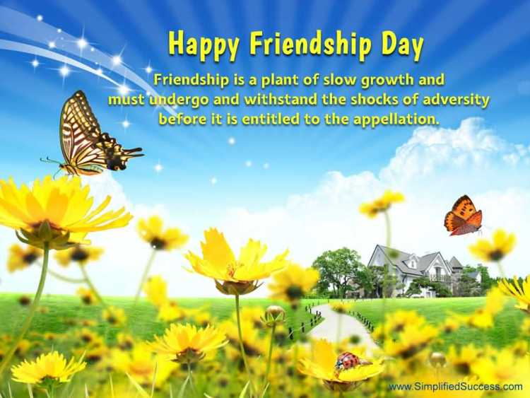 Happy Friendship Day Wishes Quotes Image