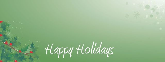 Happy Holiday Facebook Cover Image