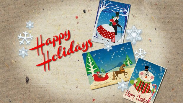 Happy Holiday Greetings Card Idea Message Image