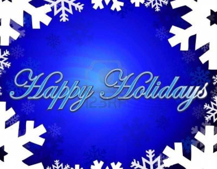 Happy Holiday Greetings Message