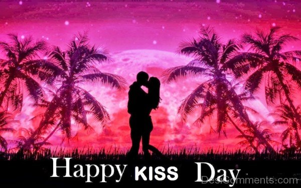 Happy Kiss Day Wishes Message Image