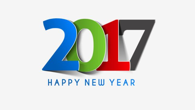 Happy New Year 2017 Awesome Wallpaper